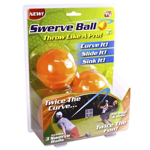 Swerve Ball - The Amazing Ball That Lets Anyone Throw