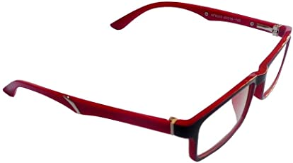 Ar Red Full Rim Light Weight Spectacle Frames For Kids With Spring( Only For 8-14 Year Old)