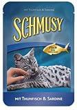 Schmusy Nature Meeres-Fisch Pouch, Sardine pur
