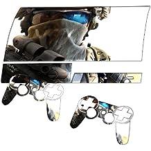 Soldat, Designfolie Sticker Skin Aufkleber Schutzfolie mit Farbenfrohem Design für PlayStation 3 Fat