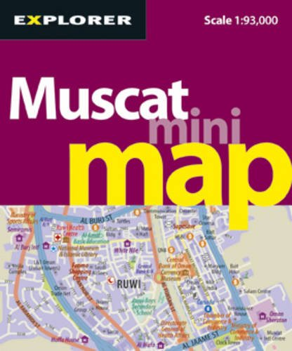 Muscat Mini Map: MUS_MMP_3 (Mini Maps) por Explorer Publishing and Distribution