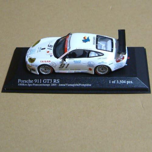PORSCHE 911 GT3 RSR Yamagishi CAFFI POMPIDOU 1000 KM SPA FRANCORCHAMPS 2005 | Paquet Solide Et élégant