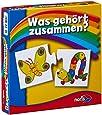 Noris Spiele 608985662 - Was gehört zusammen, Reise- und Mitbringspiel