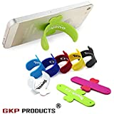 GKP Products ® Universal Portable Touch U One Touch Silicone Stand For IPhone Samsung HTC Sony Mobile Phones Tablets - Color May Vary (3 Pcs)