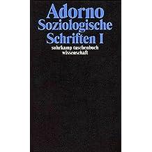 Gesammelte Schriften in 20 Bänden: Band 8: Soziologische Schriften I (suhrkamp taschenbuch wissenschaft)