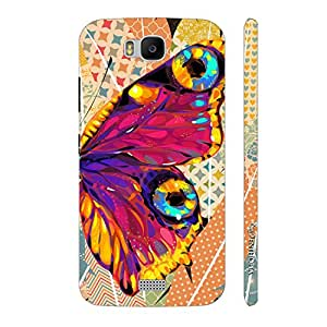 Enthopia Designer Hardshell Case Butterfly on a Feathery Wall Back Cover for Huawei Honor Bee