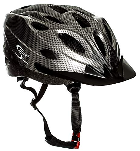 Sport Direct™ Fahrrad Erwachsener Herren Helm Silber 58-61cm