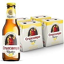 Cruzcampo Radler Limon Cerveza - 4 Packs de 6 Botellas x 250 ml - Total: