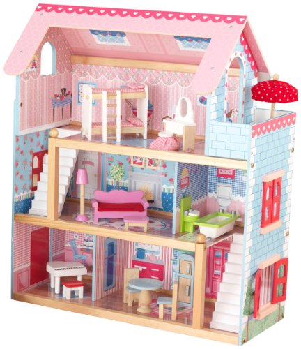 KidKraft Wooden Dolls House Chelsea Doll Cottage