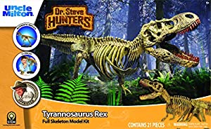 Geoworld - Kit de Ensamblaje de Esqueleto con Tyrannosaurus Rex Dr. Steve (Tachan 90891082)