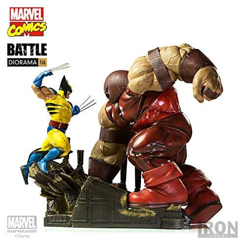 Iron Studios - Mavel - Wolverine VS Red Tank