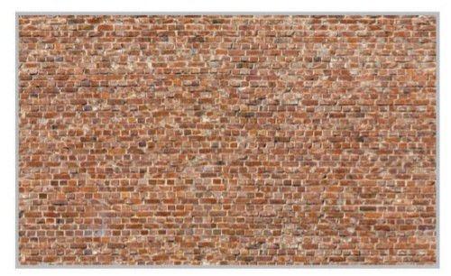 Heki 14002 Muro mattoni 31 x 24 cm. 3 Pz. H0