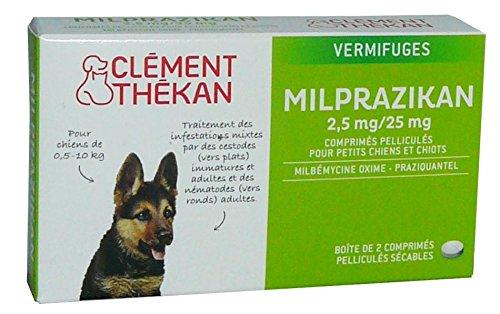 Clement Thekan - Vermifugo Milprazikan per cani da 0,5 a 10 kg