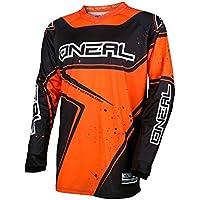 O'Neal Element Racewear Youth Kinder Jersey Orange Schwarz MX MTB DH Trikot Motocross Offroad, 0029-40