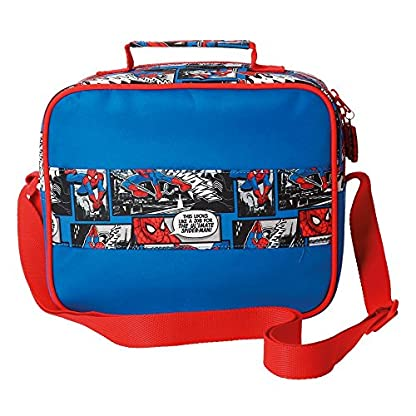 51Ydgag5jLL. SS416  - DC Comics Spiderman Bolso Make Up Adaptable El Trolley Bag Bolsos Neceser Vanity Estuche