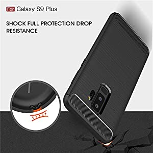 Techowik TPU Back Cover for Samsung Galaxy S9 Plus 2018 (Black)
