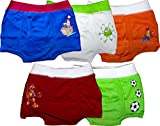 #1: BeInstyle Boys Cotton Boxers - Pack of 5