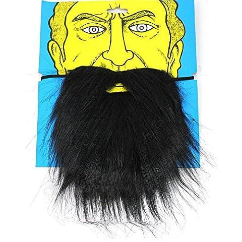 German Trendseller® - barbe de prédateur┃ bûcheron┃┃carnaval┃ théâtre ┃mascarade