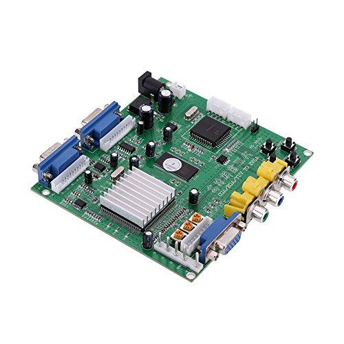 EasyBuying 2 VGA Arcade Game Video Konverter Board 2 VGA Ausgang für CRT Monitor LCD Monitor PDP Monitor Crt-monitore