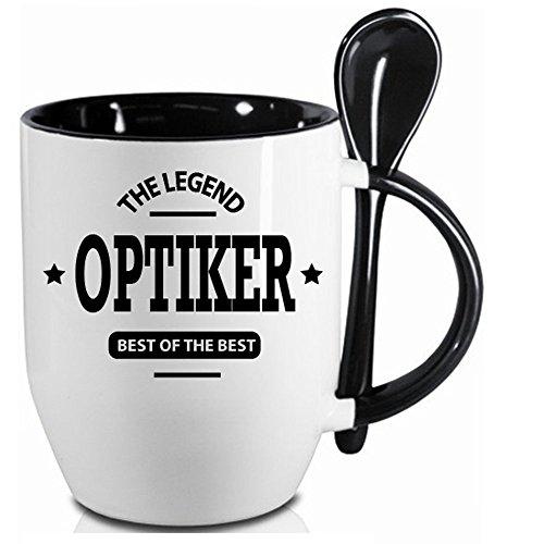 Personalisierter Löffelbecher Schwarz BEST OF THE BEST