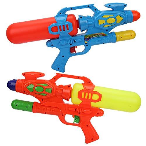 VGEBY Wasser Toy Guns, 2 Stücke Blaster Squirt Toy Guns ABS Hochdruck Kinder Strand Spielen Zubehör