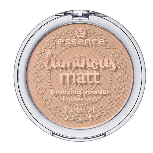Essence Teint Puder & Rouge Luminous Matt Bronzing Powder Nr. 01 Sunshine 9 g