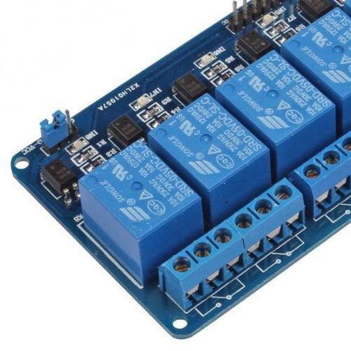 51YdkGZxJhL - Kuman 5V 8 Canales Escudo Módulo de Relé para Arduino UNO R3 1280 2560 ARM PIC AVR STM32 Raspberry Pi DSP K30