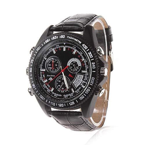 EFISH Surveillance Spion versteckte Kamera Uhr Mini Camcorder Full HD 1920 * 1080 P IR Nachtsicht Armbanduhr DVR Sprachaufzeichnung Uhren 16 GB Video-aufzeichnung Dv-uhr
