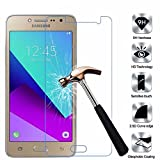 Heartly Protective 2.5D 0.3mm Pro 9H Hardness Toughened Tempered Glass Screen Protector For Samsung Galaxy J2 Ace