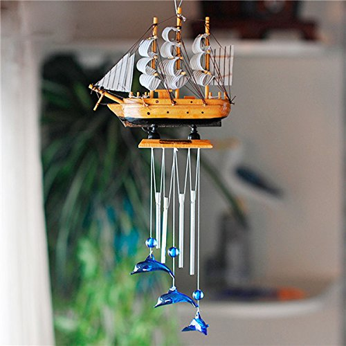 11371-i-4-tube-boat-blue-dolphin-church-wind-chime