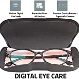 Intellilens® Women Blue Cut Zero Power Premium Spectacles for Eye Protection from UV