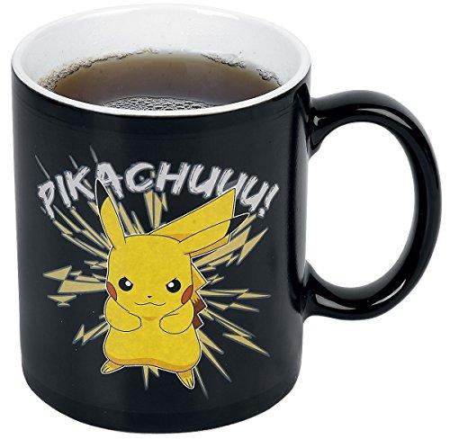 Pokemon-Pikachu-Taza-Efecto-Trmico-Tazas-Negro