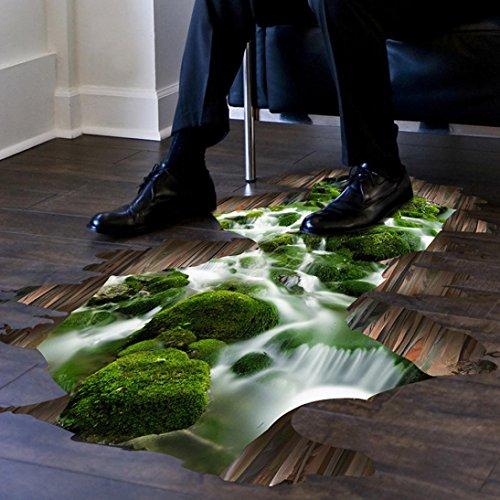 indexp-waterfall-stream-mural-cool-floor-wall-stickers-room-art-decals50x70cm