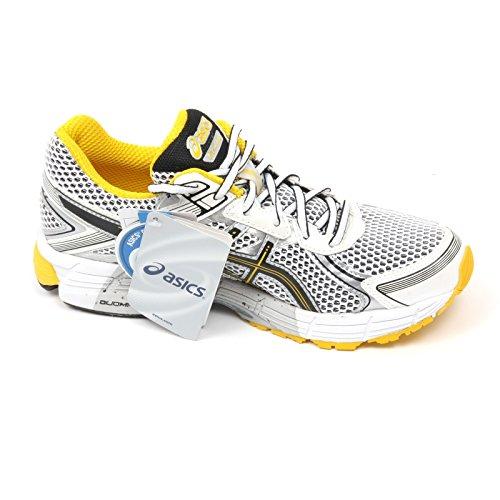 C4928 sneaker uomo ASICS GEL GT 1000 2 bianco/nero/giallo shoe man Bianco/Nero