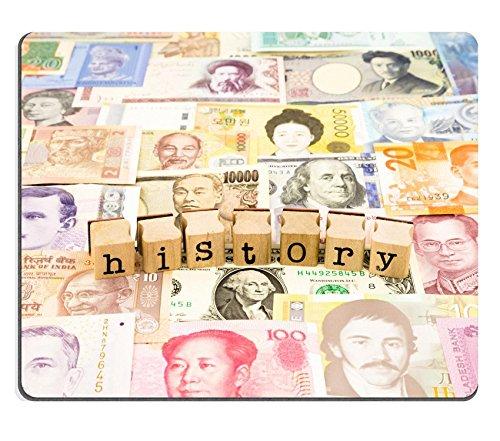 luxlady Gaming Mousepad Bild-ID: 25854045Nahaufnahme Geschichte Formulierung Stapel auf Banknoten Welt Währung Business und Bildung Konzept und Idee