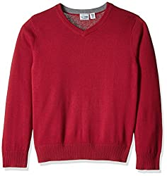 The Childrens Place Boys Sweater (20474311027_Classicred_L/10-12)