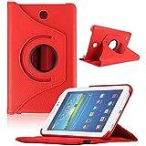 NEW Étui pour tablette Samsung Galaxy Tab417,8cm, T230Housse étui rotatif 360° Red