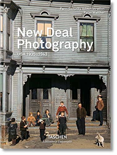 Bu-New Deal Photography, Usa 30s -Italien-Espagnol-Portugais- par Collectif