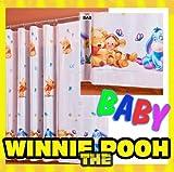 Gardine WINNIE POOH BABY 1 Teil 116B x 210L Kinderzimmer Vorhang DISNEY