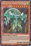 Yu-Gi-Oh! - Raiza the Mega Monarch (DUEA-EN041) - Duelist Alliance - Unlimited Edition - Secret Rare by Yu-Gi-Oh!