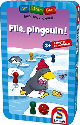 Schmidt-recinto Metal File pingüino, 88518
