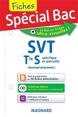 Spécial Bac : Fiches SVT Tle S