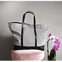 Grand sac en cuir fait à la main pour femme