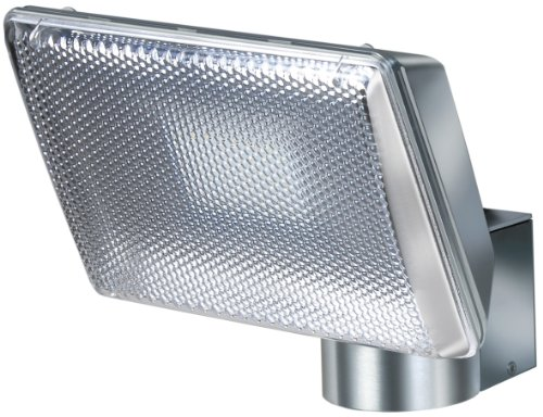 Brennenstuhl 1173340 Lampada Power LED, L2705 IP 44, Argento per interni e esterni