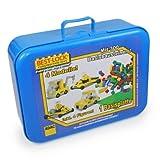 Best Lock Bausteine - ADAC Autos 300 Bausteine im Koffer Spielzeugautos