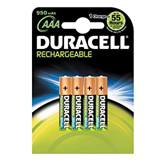 Duracell Rechargeable Accu HR03 950 mAh AAA Batteries--4-Pack (B00062IL76) | Amazon price tracker / tracking, Amazon price history charts, Amazon price watches, Amazon price drop alerts