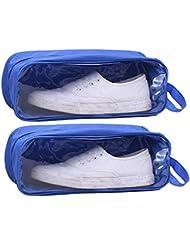 Ciaoed PVC Voyage Chaussures Sac Imperméable Pochette de Stockage de Chaussures Respirant
