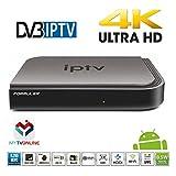 Formuler 4K IPTV Android Media Player, H.265 HEVC,Kodi,Kitkat 4.4,WIFI,Stalker