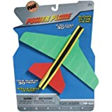 POOF-Slinky - Glow in The Dark Foam Power Plane, Assorted Colors, 2121BL by Poof (English Manual)