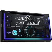 JVC KW-R930BT 50W Bluetooth Negro Receptor Multimedia para Coche - Radio para Coche (Negro, 2 DIN, 50 W, MOSFET, AAC,FLAC,MP3,WAV,WMA, LCD)
